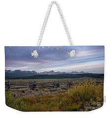 Sawtooth Range Weekender Tote Bag