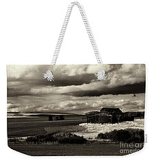 Weekender Tote Bag featuring the photograph Seen Better Days by Mike Dawson