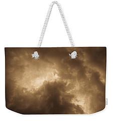 Sepia Clouds Weekender Tote Bag