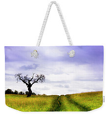 Weekender Tote Bag featuring the photograph Side By Side by Edgar Laureano