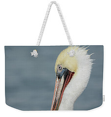 Weekender Tote Bag featuring the photograph Simplicity by Fraida Gutovich