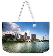 Singapore Weekender Tote Bag by Charuhas Images