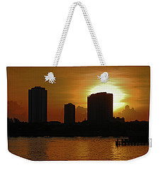 Weekender Tote Bag featuring the photograph 2- Singer Island by Joseph Keane