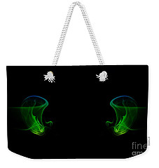 Weekender Tote Bag featuring the photograph smoke XXXIV by Joerg Lingnau