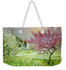 Weekender Tote Bag featuring the photograph Solitude by Diana Angstadt