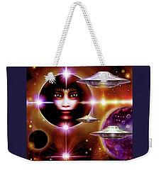 Space  Enigma  Weekender Tote Bag