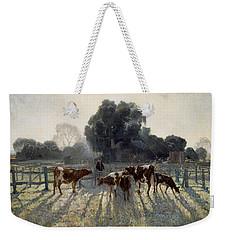 Spring Frost Weekender Tote Bag