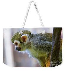 Squirrel Monkey Weekender Tote Bag by Afrodita Ellerman