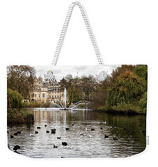 St James Park Weekender Tote Bag by Shirley Mitchell