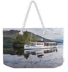Steamship Sir Walter Scott On Loch Katrine Weekender Tote Bag