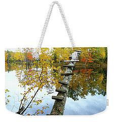 Stepping Tree - Northwoods Wisconsin Weekender Tote Bag