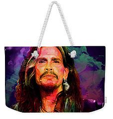 Steven Tyler Weekender Tote Bag by Elena Kosvincheva