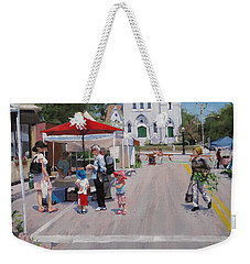 Summer In Hingham Three Weekender Tote Bag