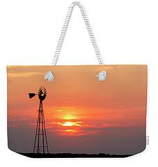 Sunrise And Windmill 01 Weekender Tote Bag