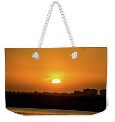 Sunrise  Weekender Tote Bag by Nance Larson