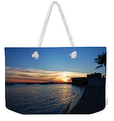 Weekender Tote Bag featuring the photograph 2- Sunset In Paradise by Joseph Keane