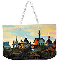 Sunset In Rostov Weekender Tote Bag by Henryk Gorecki