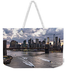 Sunset Over New York City Weekender Tote Bag