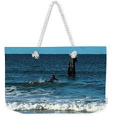 Surfing At  Weekender Tote Bag