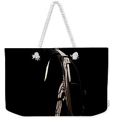 Weekender Tote Bag featuring the photograph The Door by Paul Job