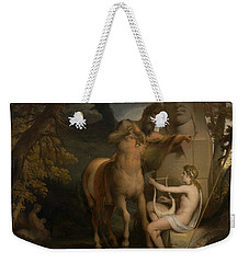 The Education Of Achilles Weekender Tote Bag by James Barry
