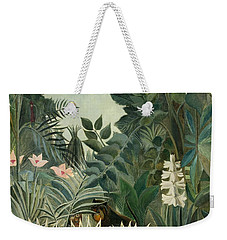 The Equatorial Jungle Weekender Tote Bag