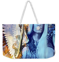 The Guardian Weekender Tote Bag by Suzanne Silvir