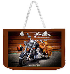 The Indian Motorcycle Weekender Tote Bag by David Patterson