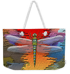 The Legend Of Emperor Dragonfly Weekender Tote Bag