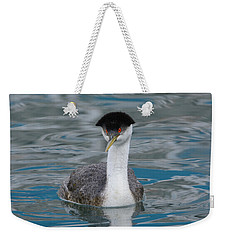Weekender Tote Bag featuring the photograph The Look by Fraida Gutovich