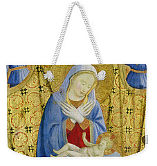 The Madonna Of Humility Weekender Tote Bag