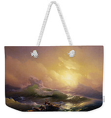 The Ninth Wave Weekender Tote Bag by Hovhannes Aivazovsky