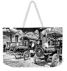 Weekender Tote Bag featuring the photograph The Old Way Of Farming by Paul W Faust - Impressions of Light