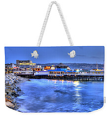 Redondo Landing At Night Weekender Tote Bag