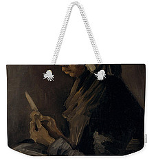 The Potato Peeler, 1885 Weekender Tote Bag