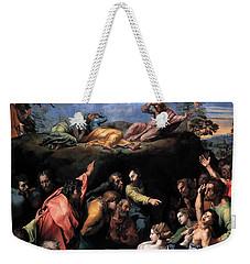 The Transfiguration Weekender Tote Bag