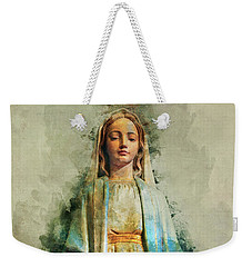 The Virgin Mary Weekender Tote Bag