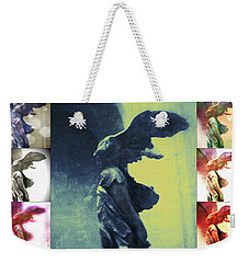 The Winged Victory - Paris - Louvre Weekender Tote Bag