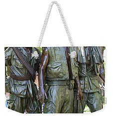 Three Soldiers Weekender Tote Bag by David Bearden