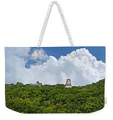 Tikal, Guatemala Weekender Tote Bag by Marius Sipa