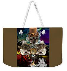 Time Traveler Art Weekender Tote Bag