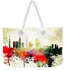 Tokyo Weekender Tote Bag by Daniel Janda