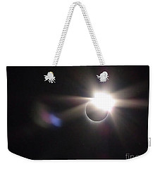 Total Eclipse 2017 Lens Flare Weekender Tote Bag