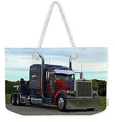 Transformers Optimus Prime Tow Truck Weekender Tote Bag
