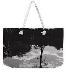 Tree Reflection Sebastopol Ca, Weekender Tote Bag