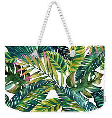 Tropical  Weekender Tote Bag by Mark Ashkenazi
