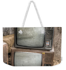 2 Tv's And A Radio Weekender Tote Bag
