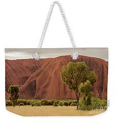 Weekender Tote Bag featuring the photograph Uluru 08 by Werner Padarin