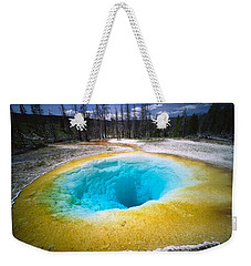 Usa, Wyoming, Yellowstone National Weekender Tote Bag