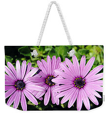 The African Daisy 2 Weekender Tote Bag by Isam Awad
